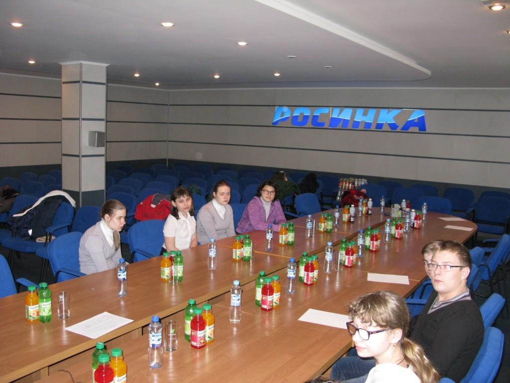 Экскурсия на ОАО «Росинка»