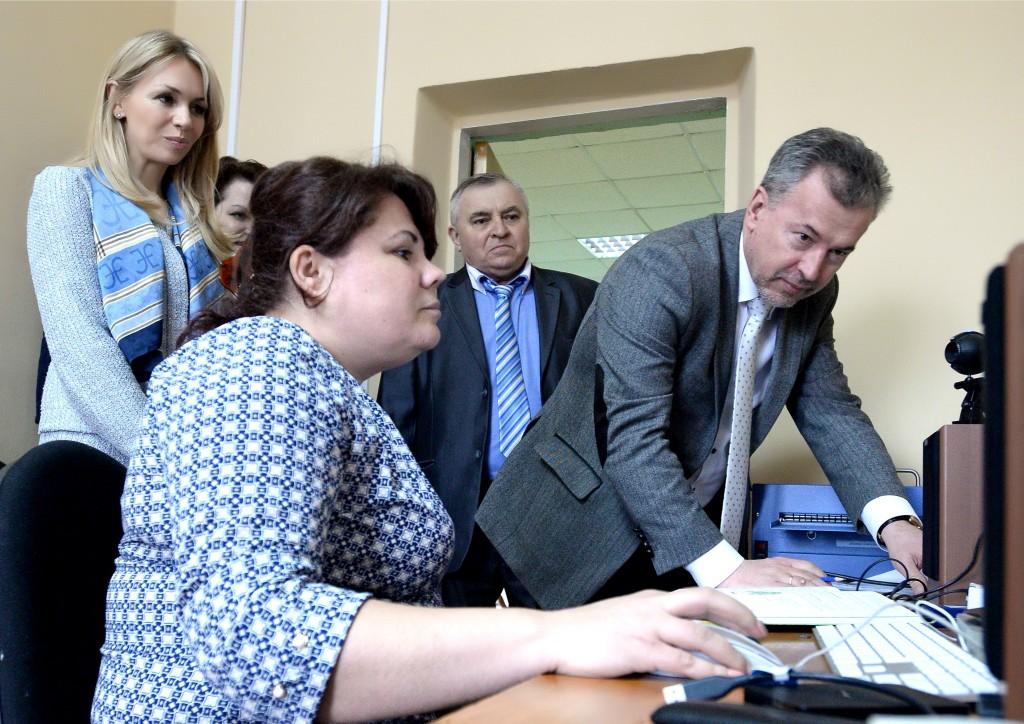 Татьяна Шубина с рабочим визитом