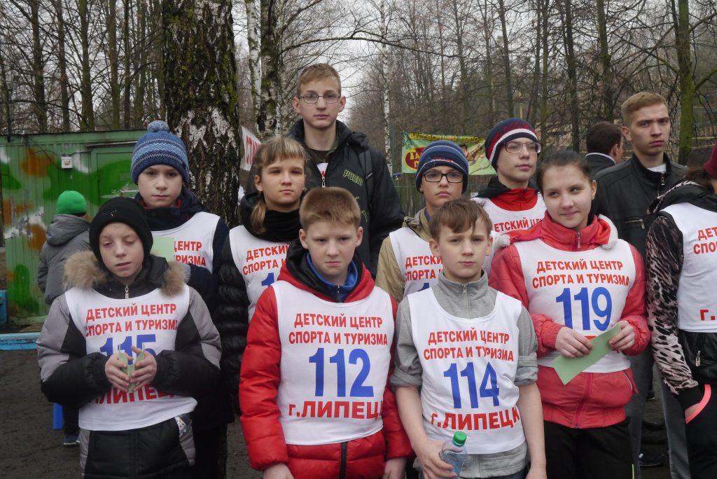 Областные соревнования по спортивному ориентированию бегом