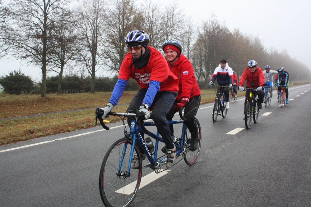 Велопробег «Липецк-Страсбург»