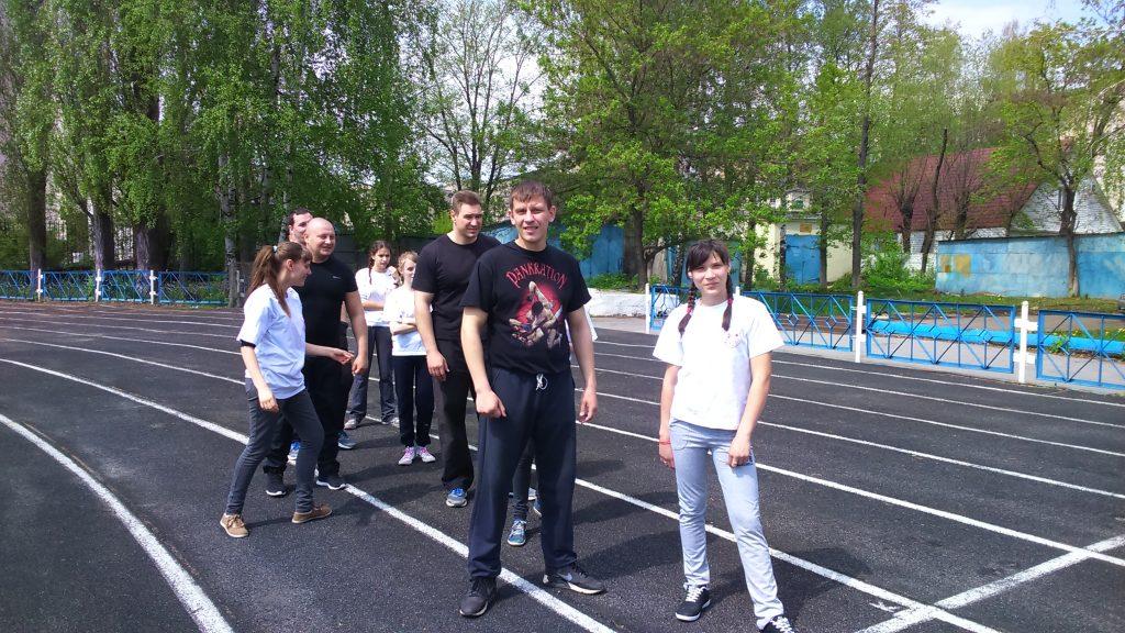 Спортивно-патриотический конкурс «Юный защитник Отечества»
