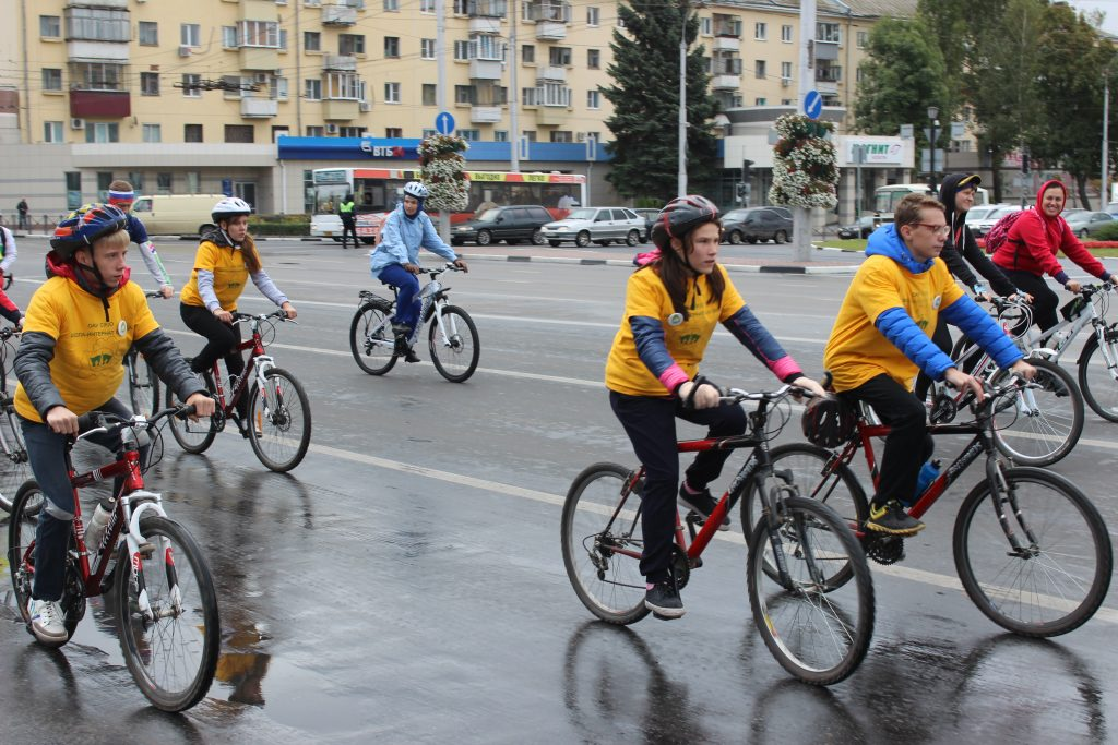Велопробег «За здоровое будущее»