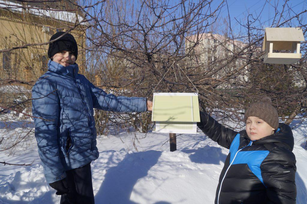 Экологическая акция «Покормите птиц зимой – 2017!»