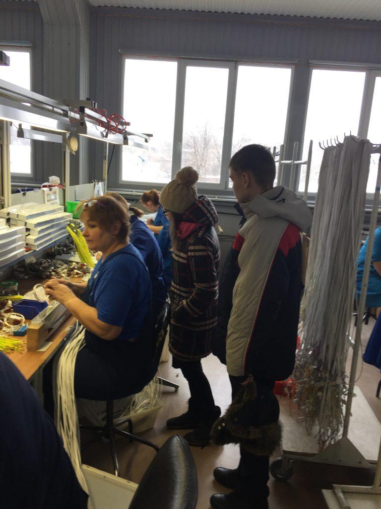 Экскурсия на предприятие ЛПО «Электроаппарат»