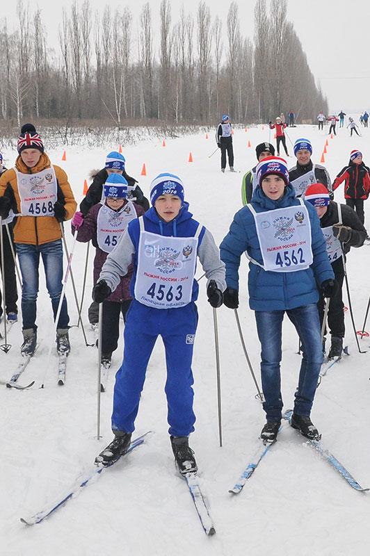 Лыжня России — 2014