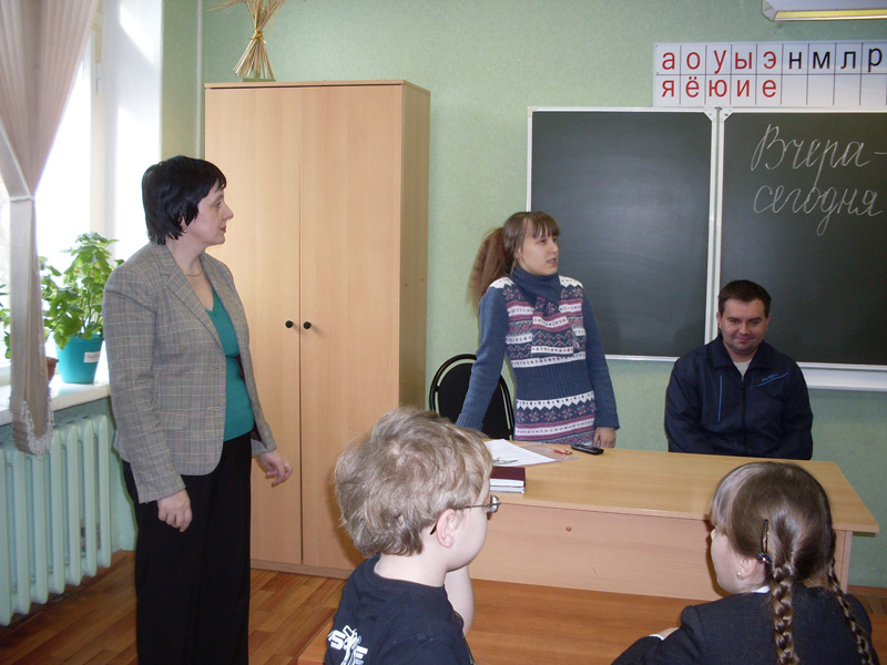 Встречи с интересными людьми нашей школы