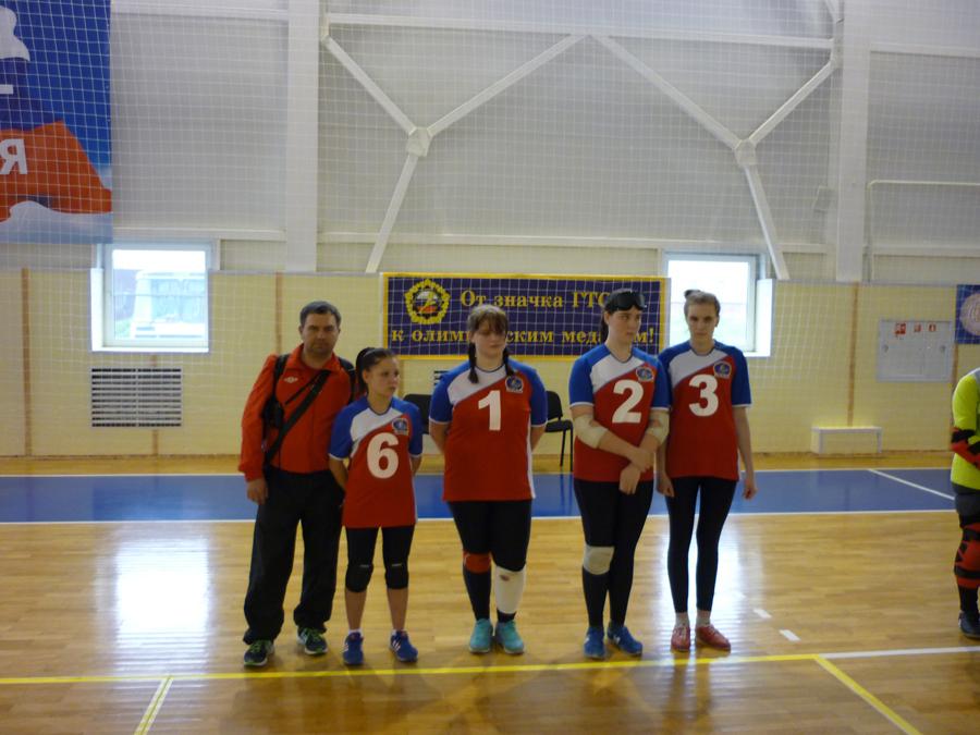 Соревнования по голболу