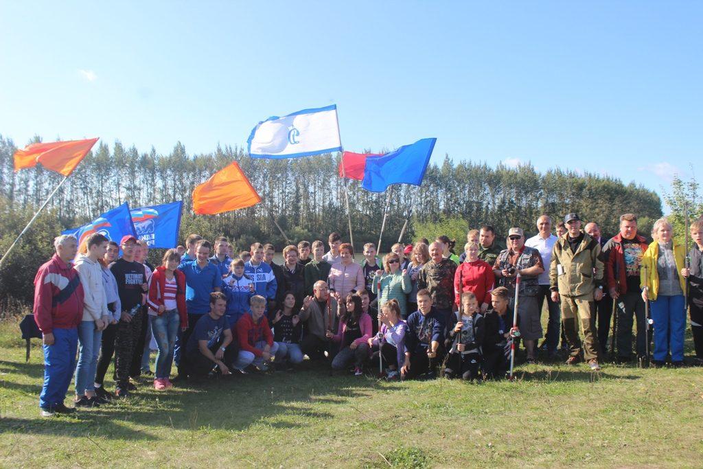 Соревнования по спортивному и любительскому рыболовству