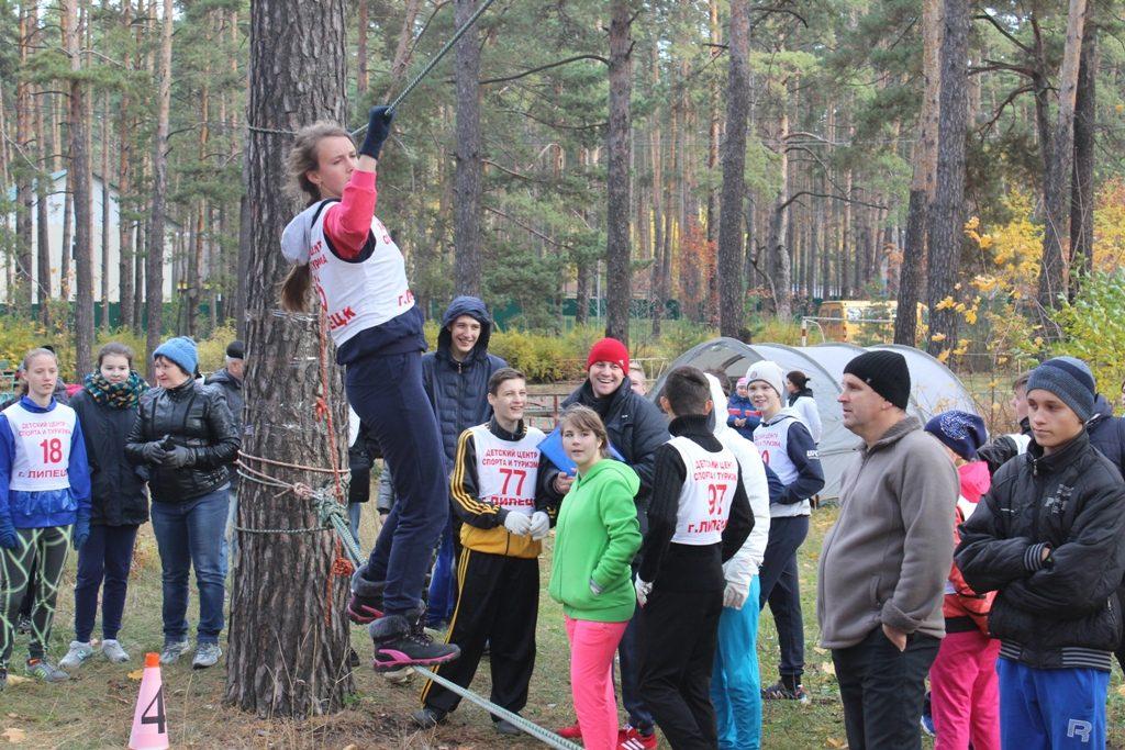 Областные соревнованиях по туризму среду учащихся с ОВЗ