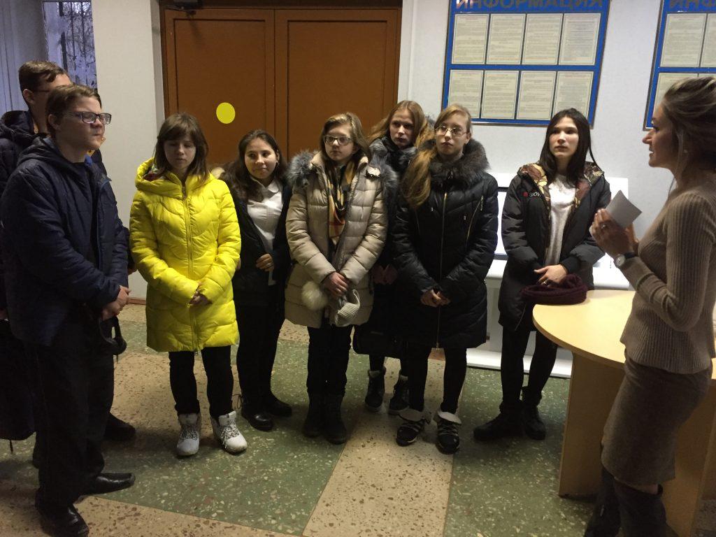 Экскурсия в отдел социальных прав и гарантий центра социальной защиты населения г. Липецка