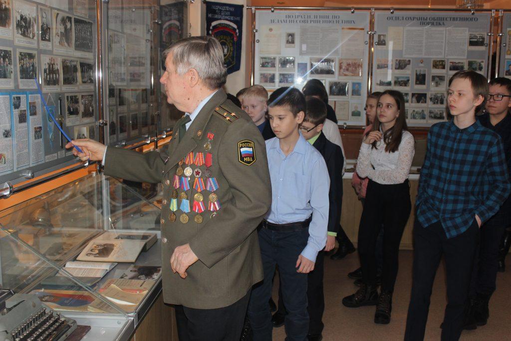 Музей УМВД по Липецкой области радушно встретил гостей