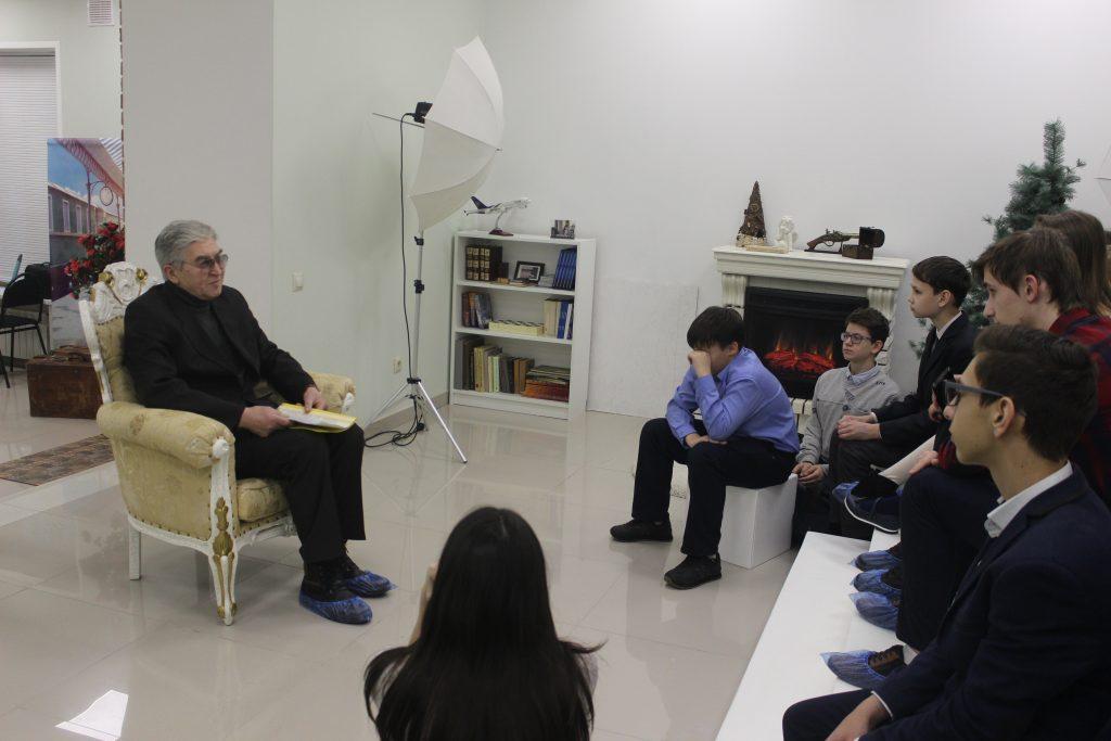 Вечер встречи с автором книги «Легенда о рождении речки Липовки»