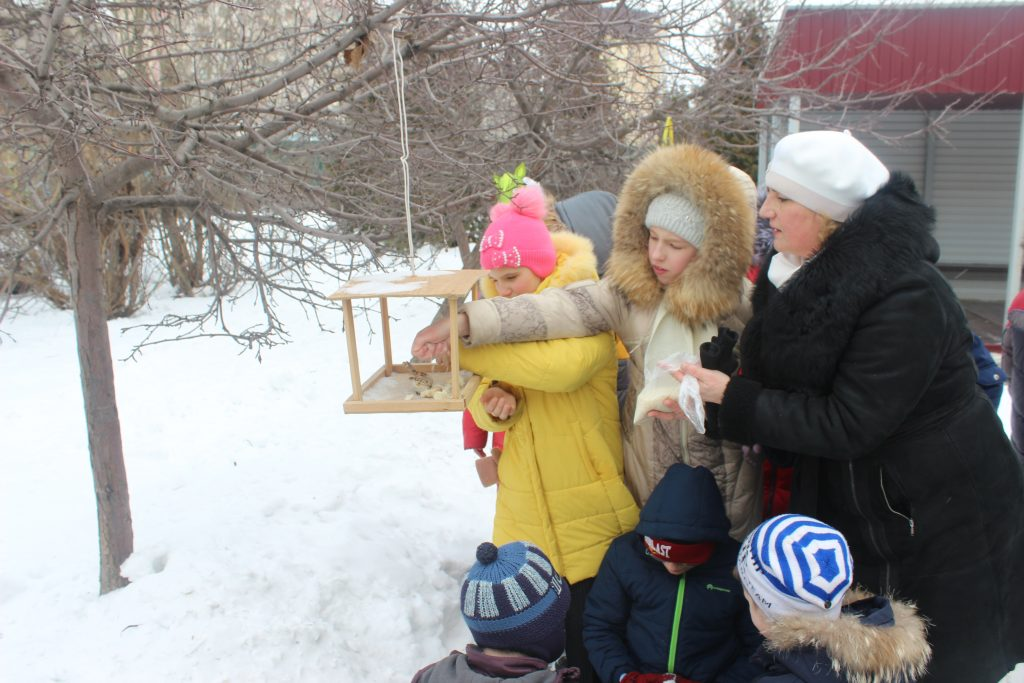 Акции «Покормите птиц зимой!»
