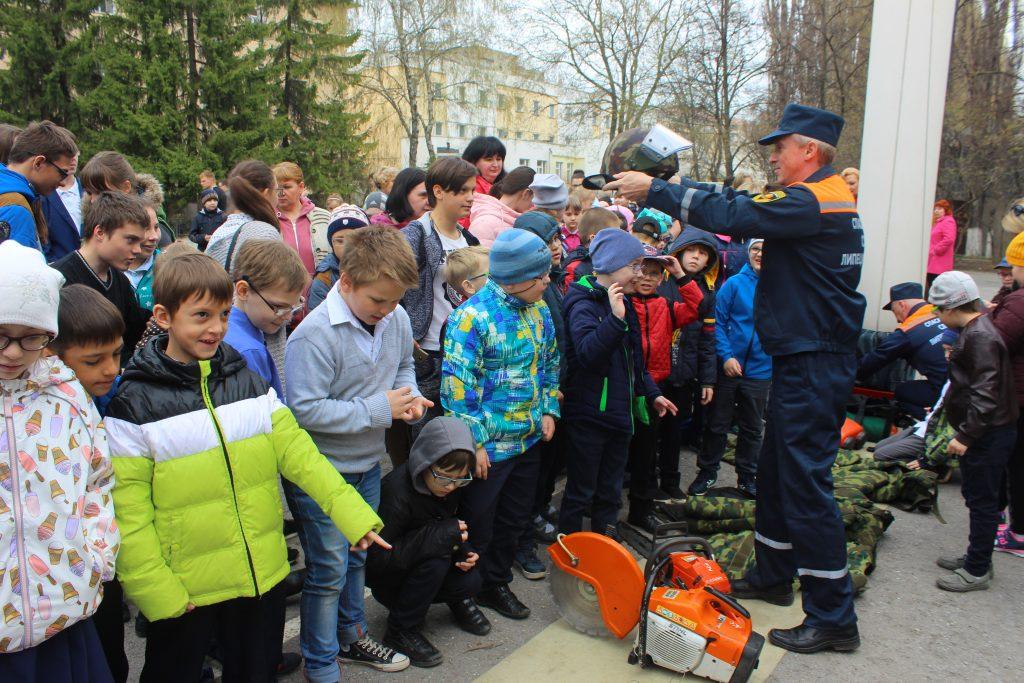 Урок пожарной безопасности