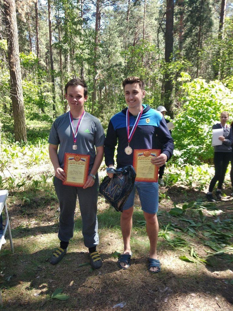 Первенство Липецкой области и чемпионат по ориентированию