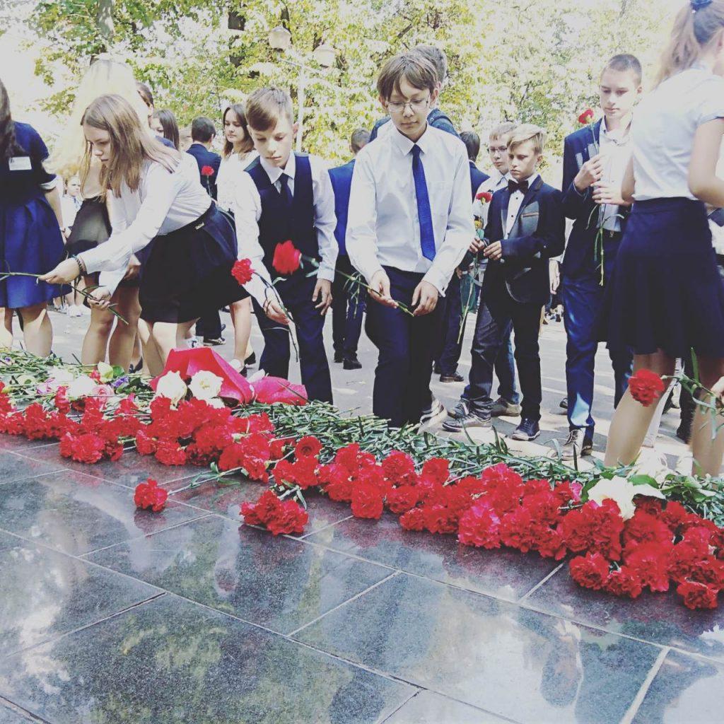 Митинг памяти жертв Беслана