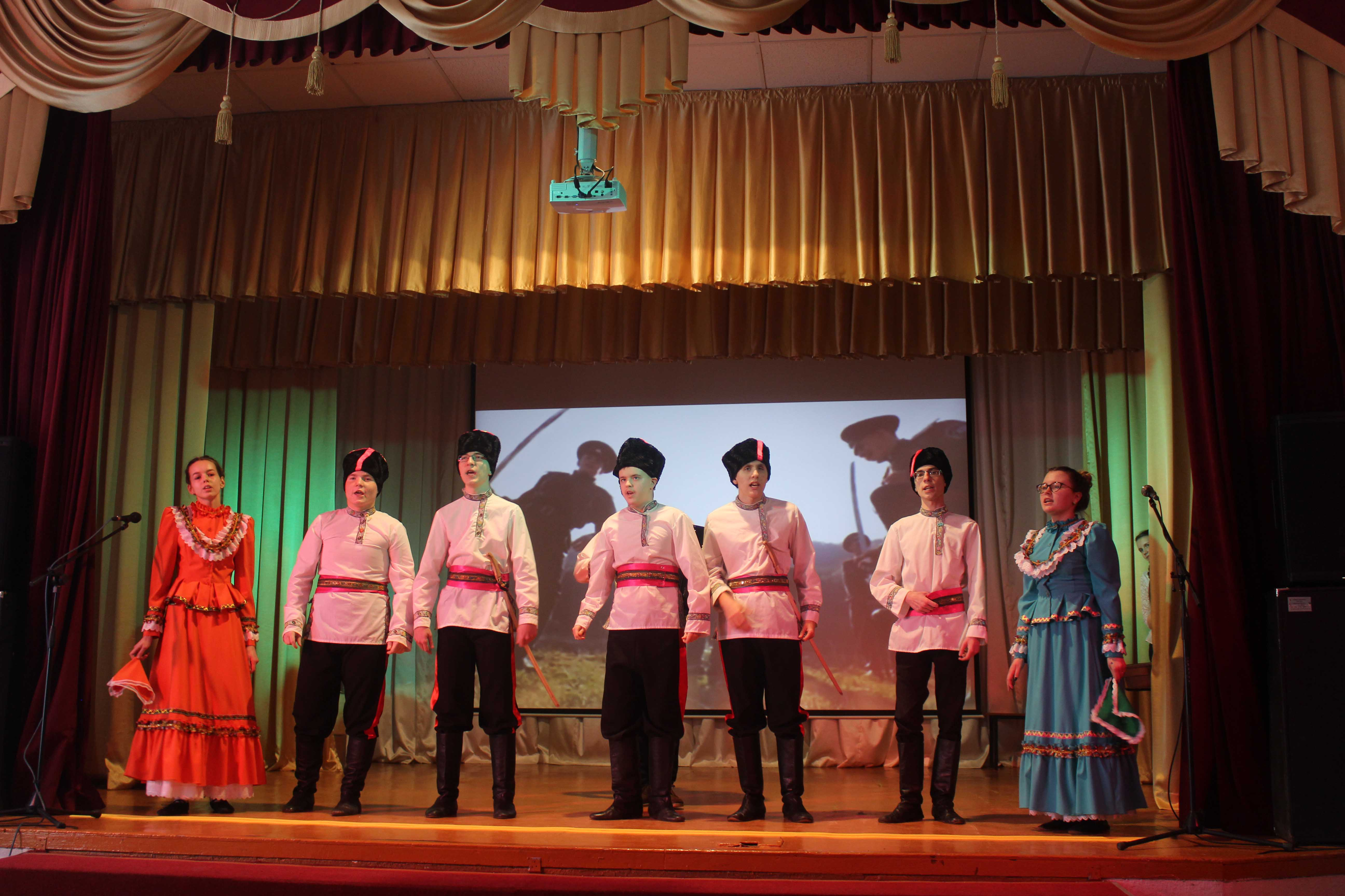 Концерт в честь Дня защитника Отечества