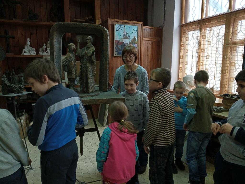 Экскурсия в музей скульптуры