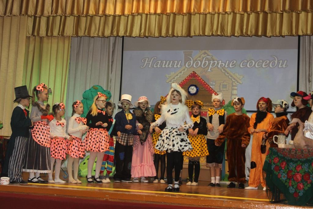 В школьном театре – снова премьера