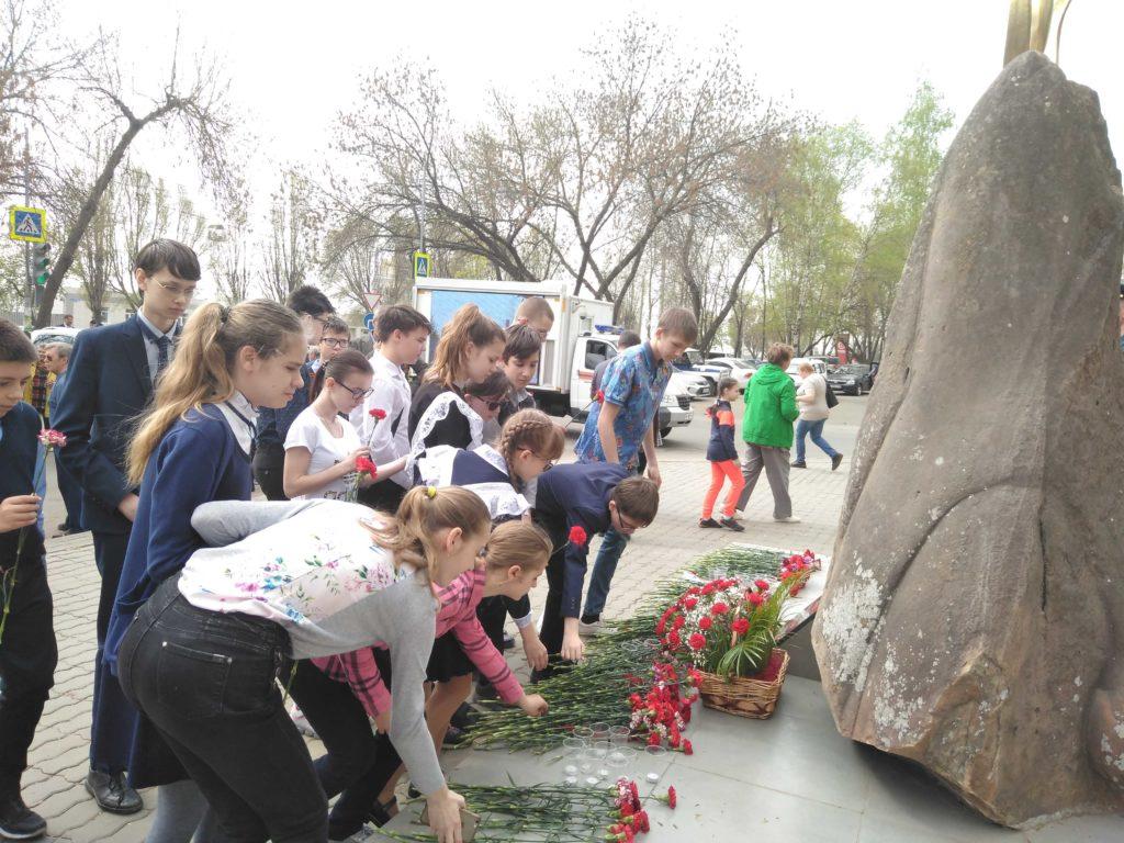 Митинг памяти жертв Чернобыльской катастрофы