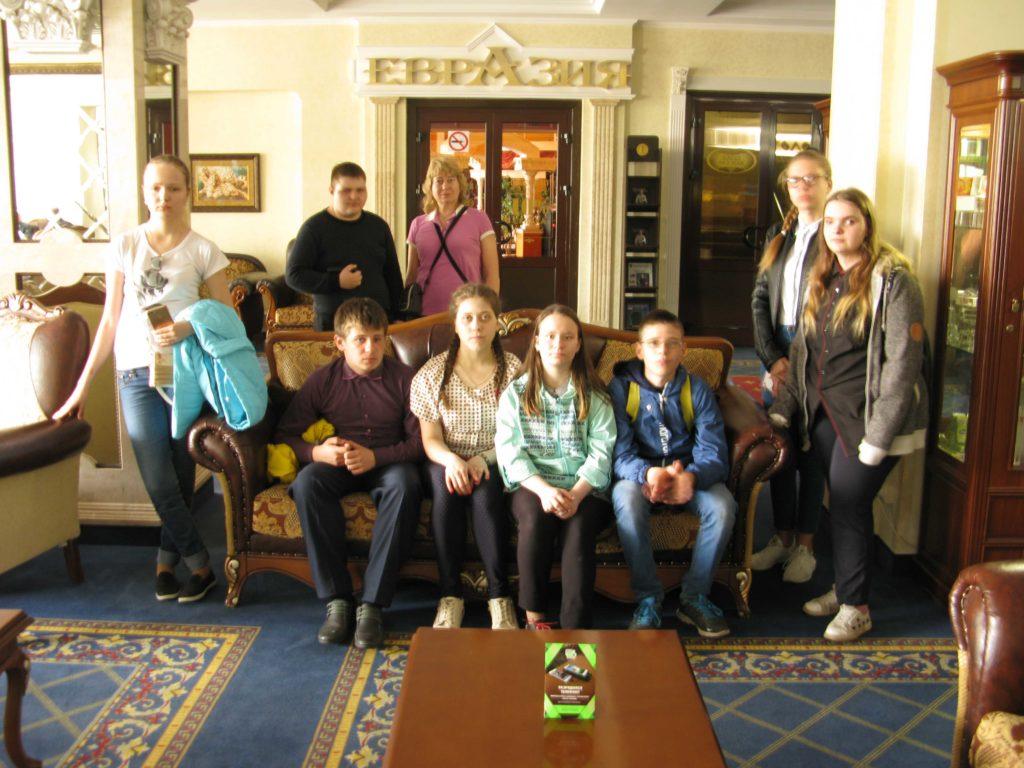 Экскурсия в гостиницу «Липецк»
