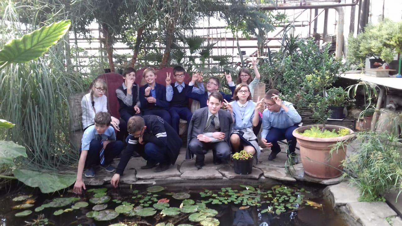 Экскурсия в «Зеленхоз»