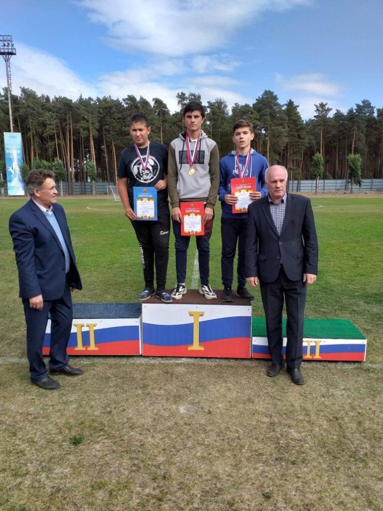 Чемпионат Липецкой области по легкой атлетике