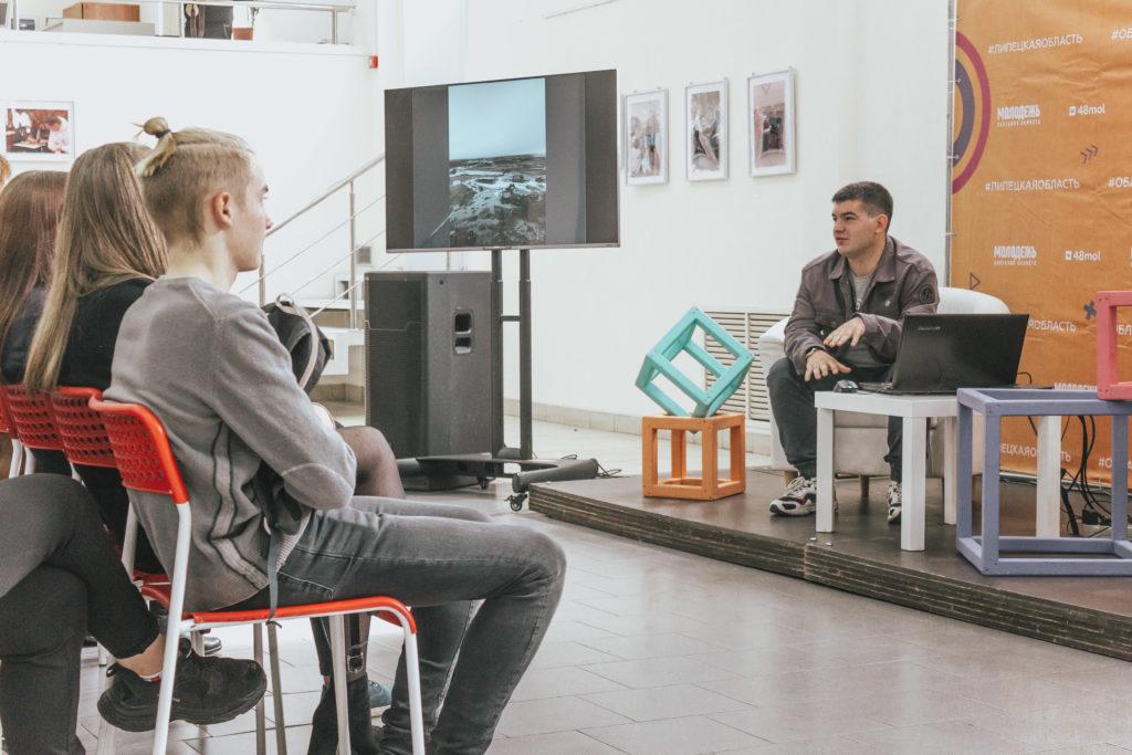 Встреча с «Волонтером Арктики» Дмитрием Урываевым