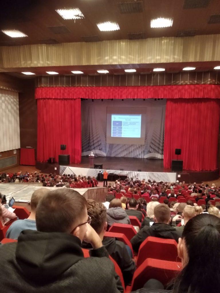 На  Дне открытых дверей в Липецком государственном техническом университете