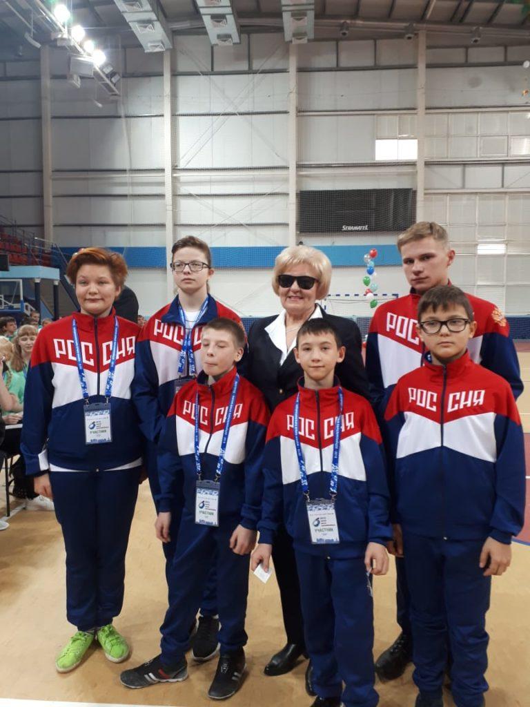 Форум юных паралимпийцев