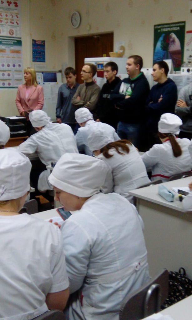 Экскурсия в Липецкий медицинский колледж