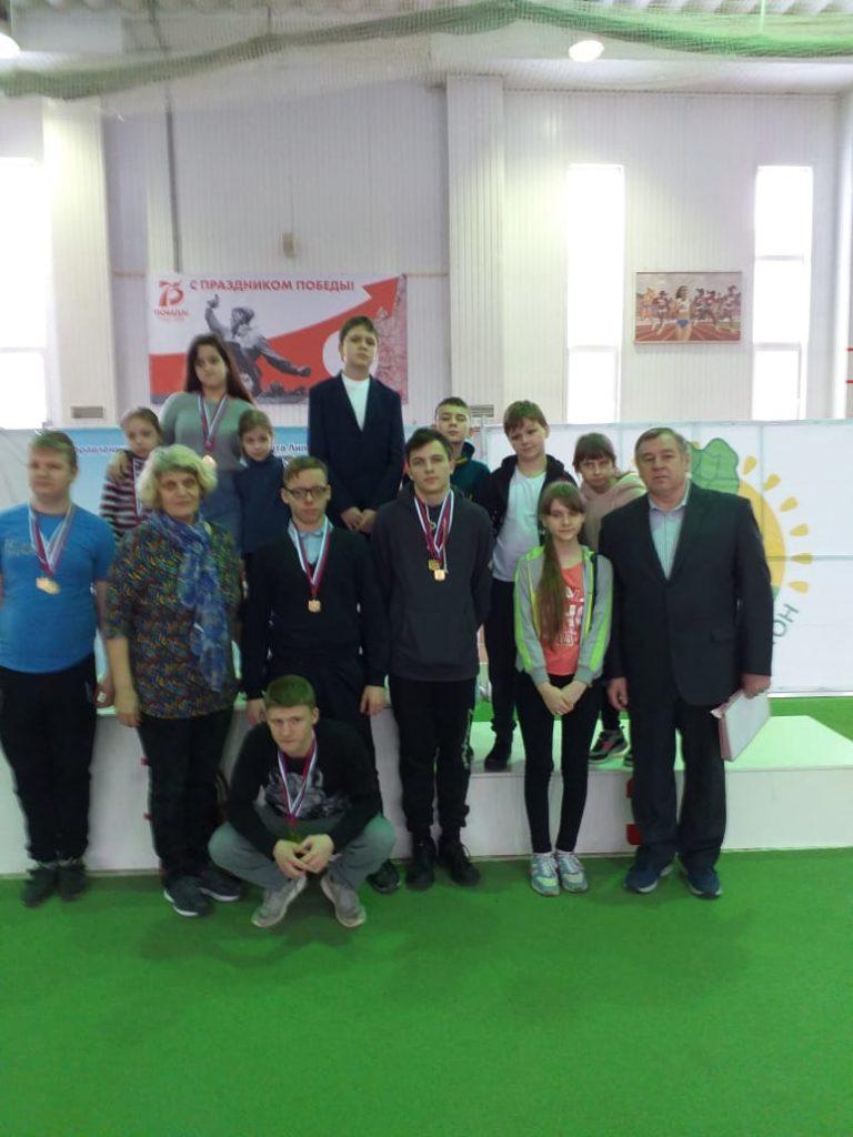 Первенство Липецкой области по легкой атлетике