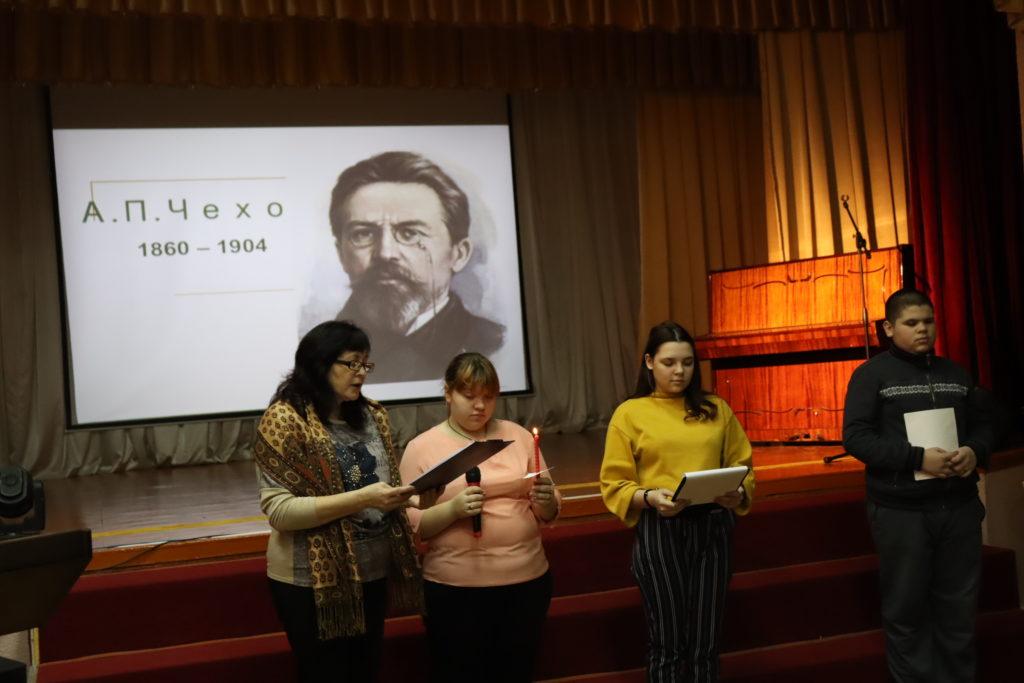 Литературный час посвященный русскому писателю