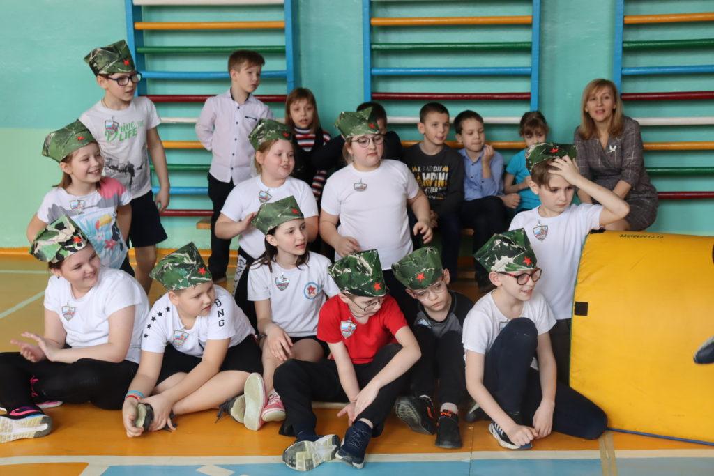Спортивный праздник «Служу России»
